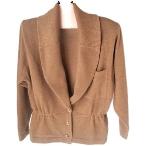St. John Couture | Vintage Shawl Collar Cardigan